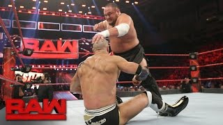 Cesaro vs. Samoa Joe: Raw, Feb. 27, 2017