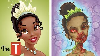 10 Disney Characters Reimagined As MONSTERS