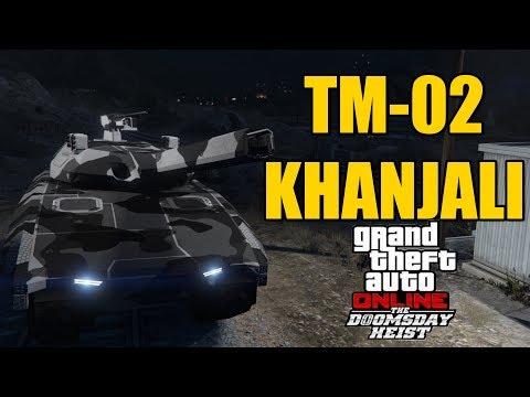NEW GTA TANK : TM-02 KHANJALI REVIEW : Doomsday Heist