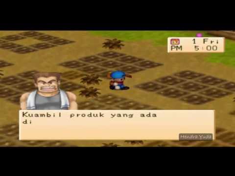 Harvest Moon Back To Nature - Bunga Langka