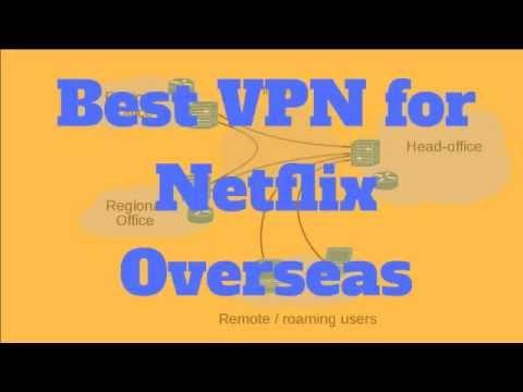 Best VPN for Netflix - Get the Best VPN for Netflix Overseas