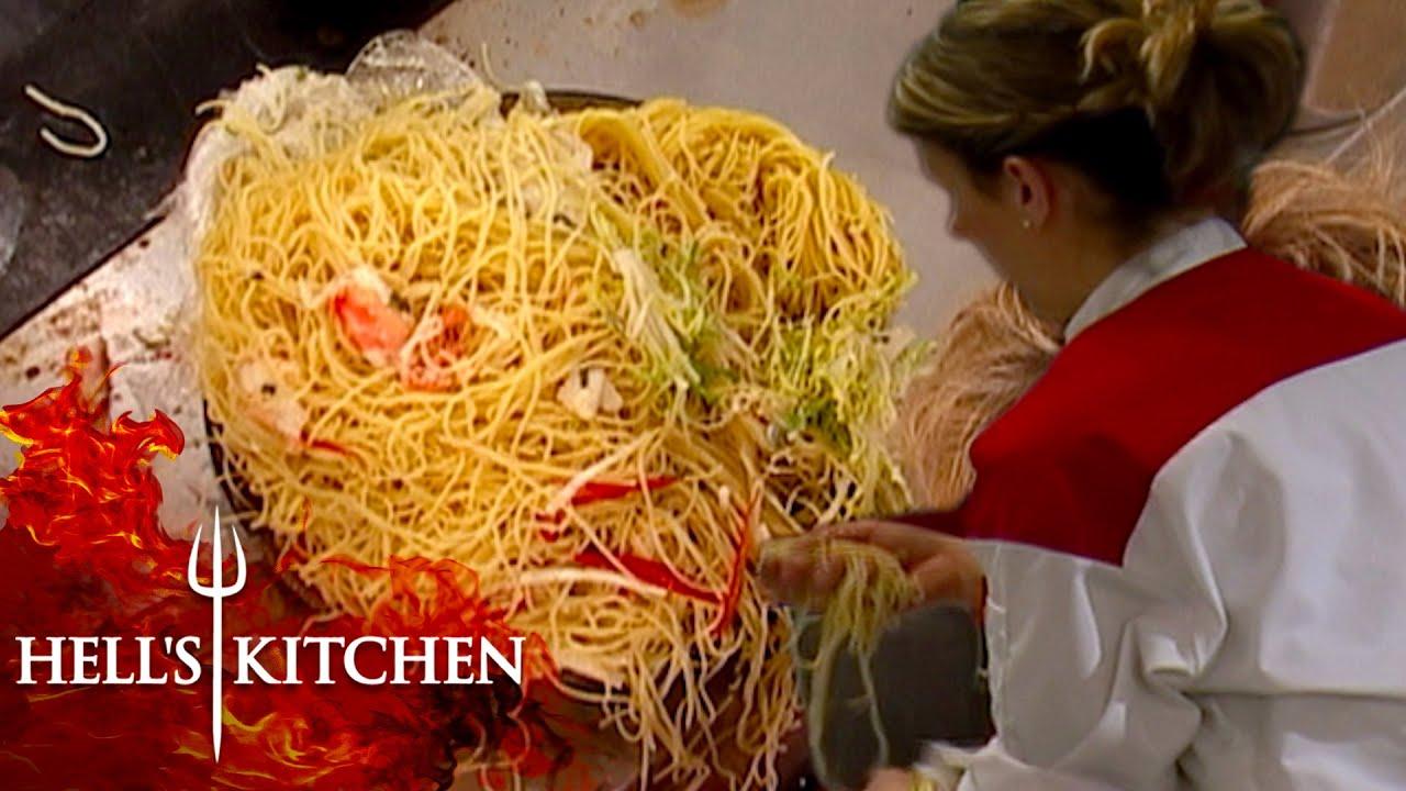 The Worst Pasta Moments On Hell's Kitchen