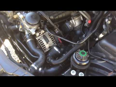 BMW N54 Oil Filter Housing And Intake Manifold Removal 135i 335i 535i