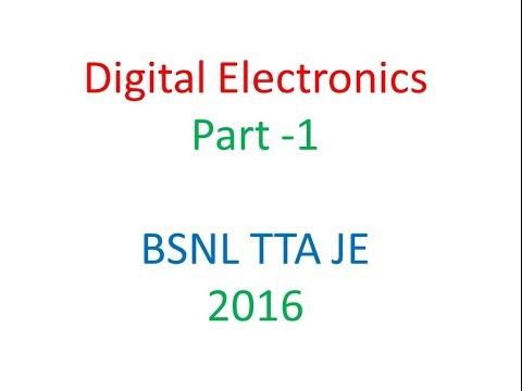 Digital Electronics Part 1