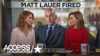 Download Natalie Morales Addresses Former 'Today' Co-Worker Matt Lauer's Firing: 'I Am In Shock' Video