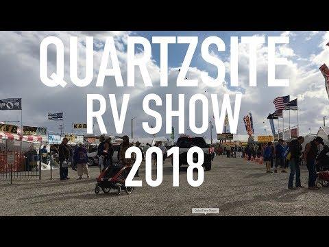 Quartzsite RV Show 2018!