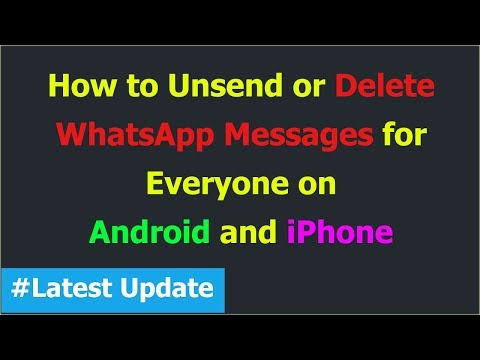 How to Delete WhatsApp Messages for Everyone (Hindi)