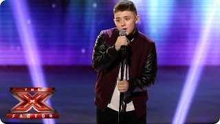Nicholas Mcdonald Sings Someone Like You By Adele  Live Week 6  The X Factor 2013