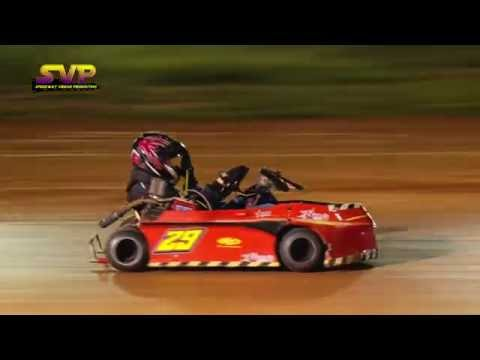 Go Cart Racing | FLAT HEAD 350 MONEY RACE | Sept 9 , 2016