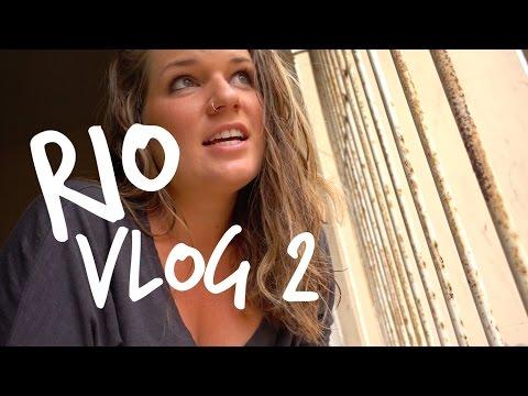 Rio Vlog 2 || first time on tinder, making tapioca, markets
