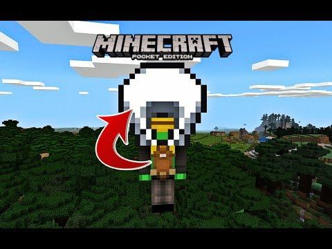 ✔️ Working PARACHUTE in Minecraft PE 1.5?! Command block Tutorial (Minecraft Pocket Edition)
