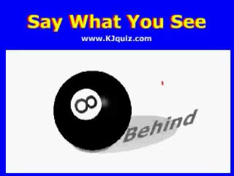 Catchphrase - Say What You See iPod Game by www.kjquiz.com