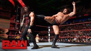 Roman Reigns vs. Rusev: Raw, Aug. 15, 2016