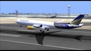Shaheen Air NL766 A330-300 AP-BKL Lahore (LHE) - Dubai (DXB)