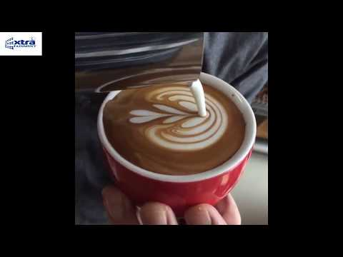 coffee art || learn coffee art || easy way to make coffee art.