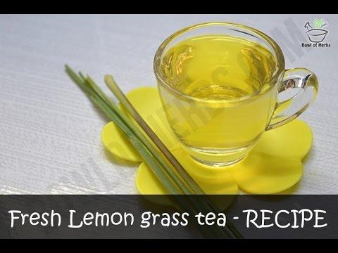 How to make Lemon grass tea at home - Recipe