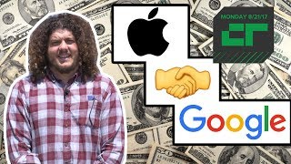 Google Pays Apple Lots of $$$ for Search    Crunch Report