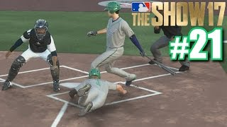 FIRST STEAL OF HOME! | MLB The Show 17 | Road to the Show #21