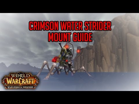 Crimson Water Strider Mount Guide