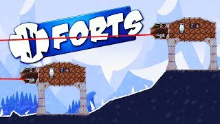 AT-ATs DESTROY ECHO BASE! - Forts Multiplayer Gameplay