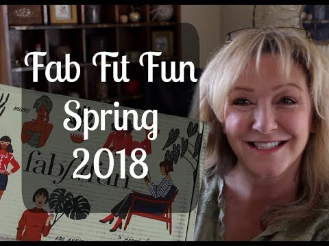 Fab Fit Fun--Spring 2018
