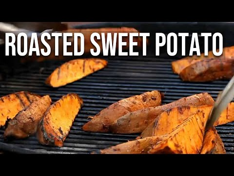 Fire-Roasted Sweet Potatoes recipe by the BBQ Pit Boys