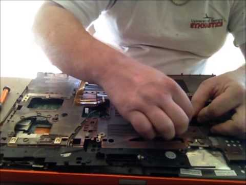 Dell M6400 M6500 Tear Down for Cleaning