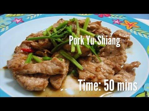 Pork Yu-Shiang Recipe