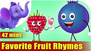 Fruit Rhymes – Ultra HD (4K) Best Collection of Rhymes for Children in English