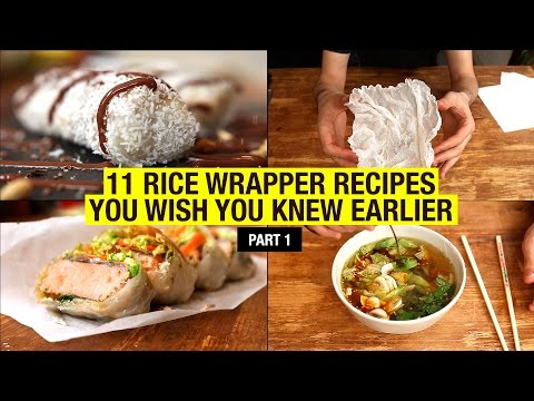 11 Recipes That Use Rice Paper Way Beyond Spring Rolls (part 1)