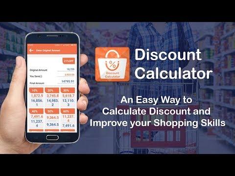 Discount Calculator App | Easy Way to Calculate Discount
