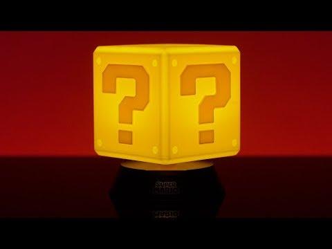 Super Mario Question Block Icon Light | Paladone