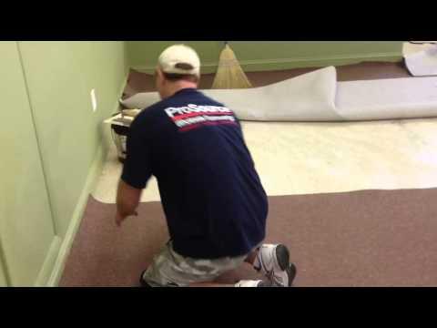 How To Seam a Glue Down Carpet