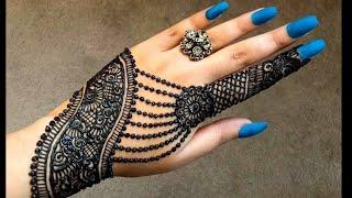 Beautiful Gulf Arabic Khaleeji Flower Simple Easy Henna