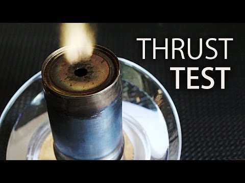 Tin Can Pulse Jet Thrust [Viewer Request]