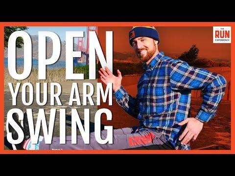 Proper Running Technique | Open Your Arm Swing