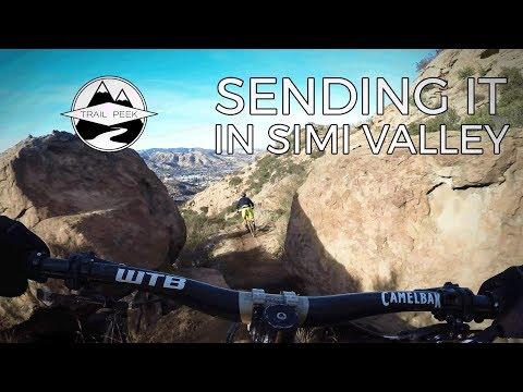 Sending it in Simi Valley - Mountain Biking Simi Valley, California