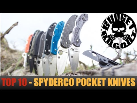 Top 10 Best Spyderco Pocket Knives: EDC (Everyday Carry), Emergency, & Tactical | Budget Bugout