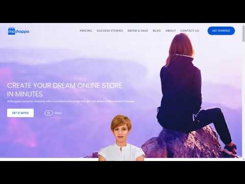 Online Store Builder in moshoppa com Create A Web Store