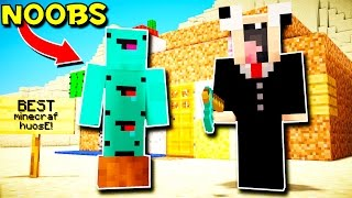 TWO NOOBS PLAY MINECRAF!