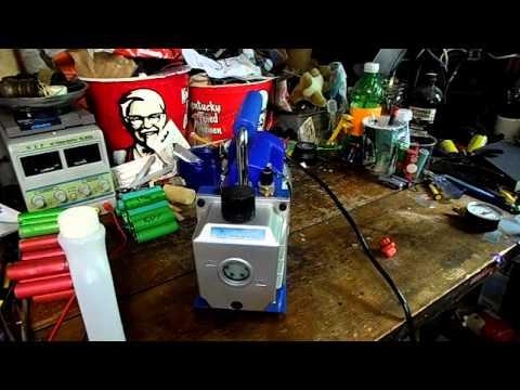 Ebay Reviews: 1 Stage 3CFM Vacuum Pump