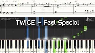 TWICE - Feel Special 피아노악보(Piano Sheet Music) / Piano Cover 피아노 커버 / Chord(코드)