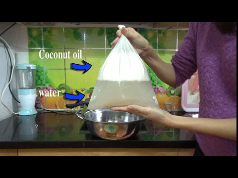 How To Make COCONUT OIL In Your Home New way, EASIEST