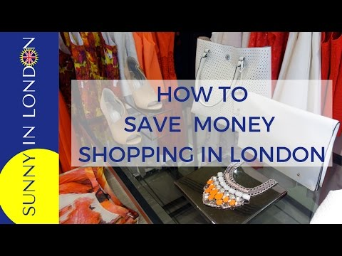 VAT Refund Shopping When Visiting London