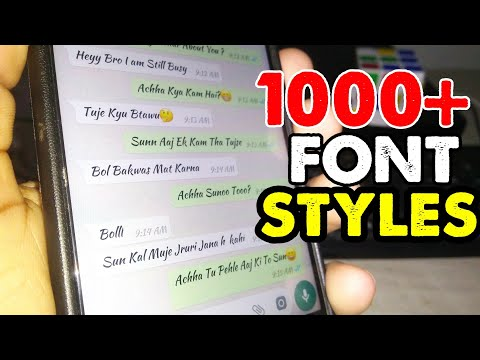 Change Font Style On Any Android || Root + Without Root