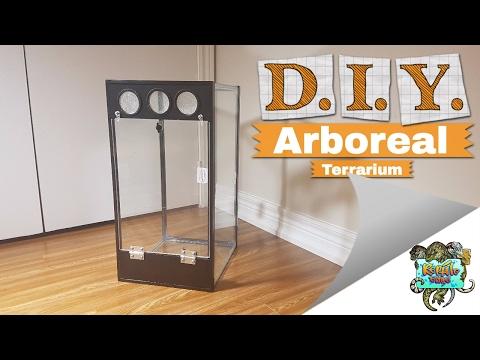 $25 Arboreal Terrarium - Crested Gecko Setup