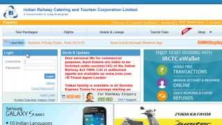 Recover or Reset IRCTC Login ID, Username And Password In