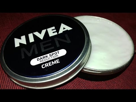Nivea Men Dark Spot Reduction Cream Review Hindi