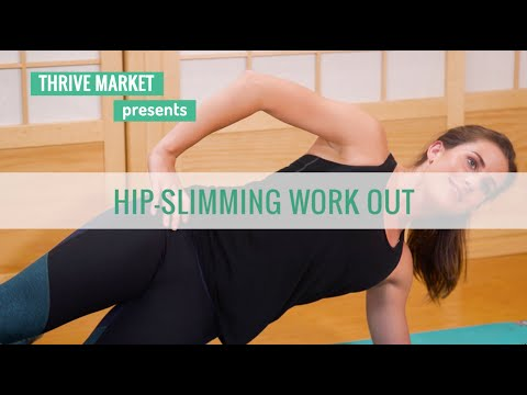 How to Slim Your Hips in 5 Easy Moves