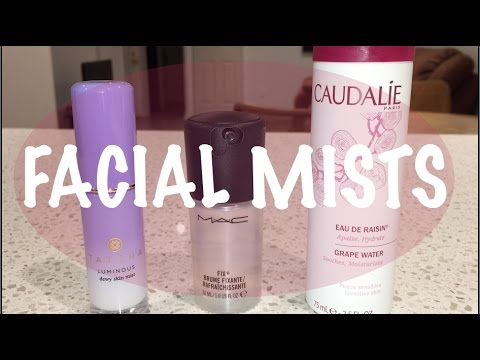 Battle of the Facial Mists | Best for Oily Skin? Dry Skin? Setting Makeup?